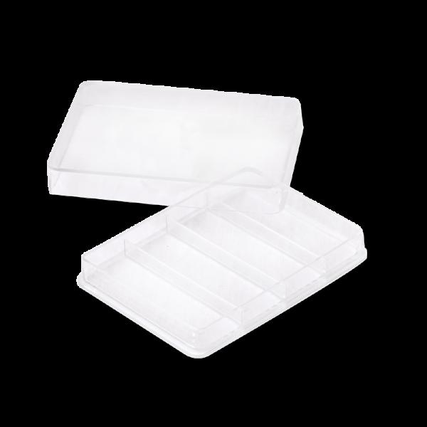 Boîte Plastique à Safran IASA-31 4 Compartiments - Anfra Packaging