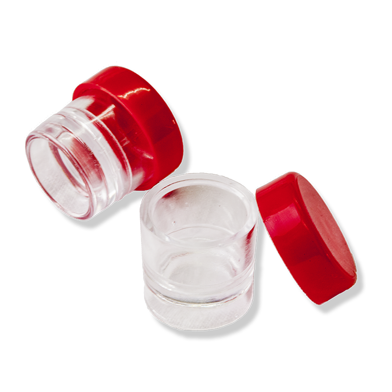 PS Single-dose Saffron Vial With Red Cap - Anfra Packaging