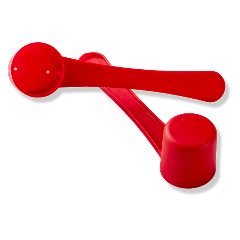10ml Red Wide Rod Dosing Scoop - Anfra Packaging