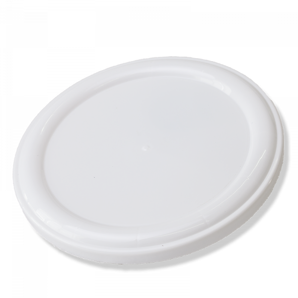 104mm White Plastic Overcacp (New Model) - Anfra Packaging