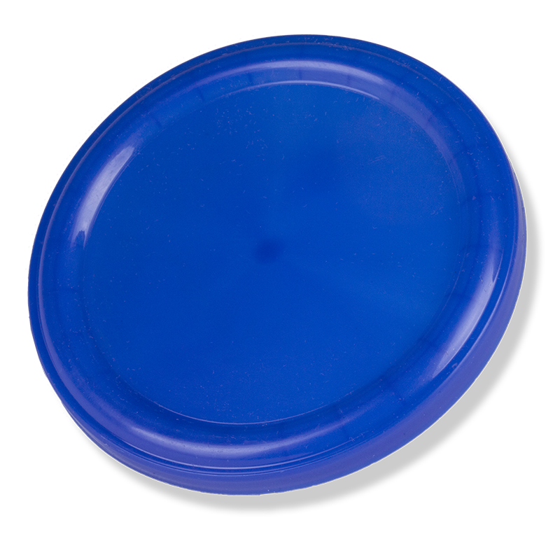 104mm Blue Plastic Overcacp (New Model) - Anfra Packaging