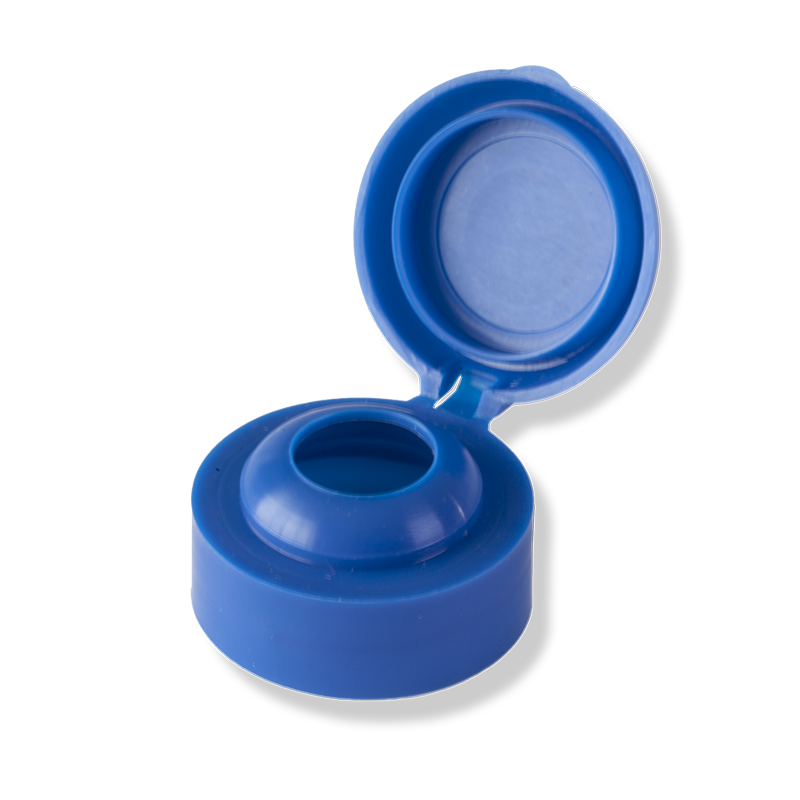 1 Hole Flip Top Blue Cap For Private Label - Anfra Packaging