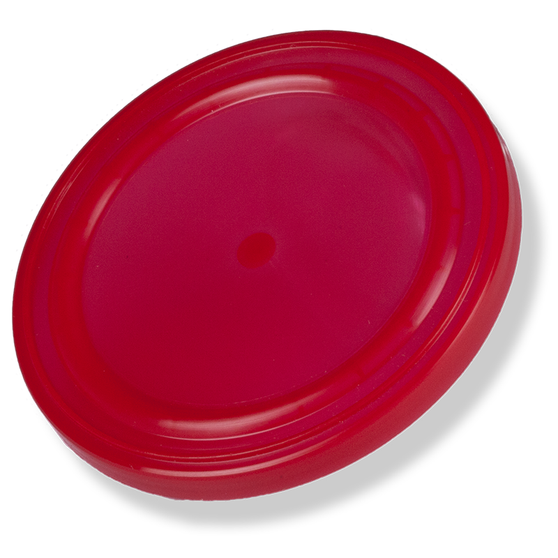 73mm Red Plastic Overcap - Anfra Packaging