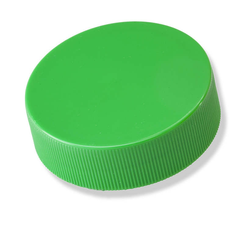 63mm Twist-Off Green Cap With Liner - Anfra Packaging