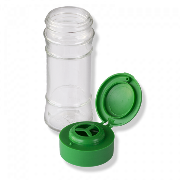 ANFRA All-porpouse Flip Top Green Cap For Herbs and Grain - Anfra Packaging