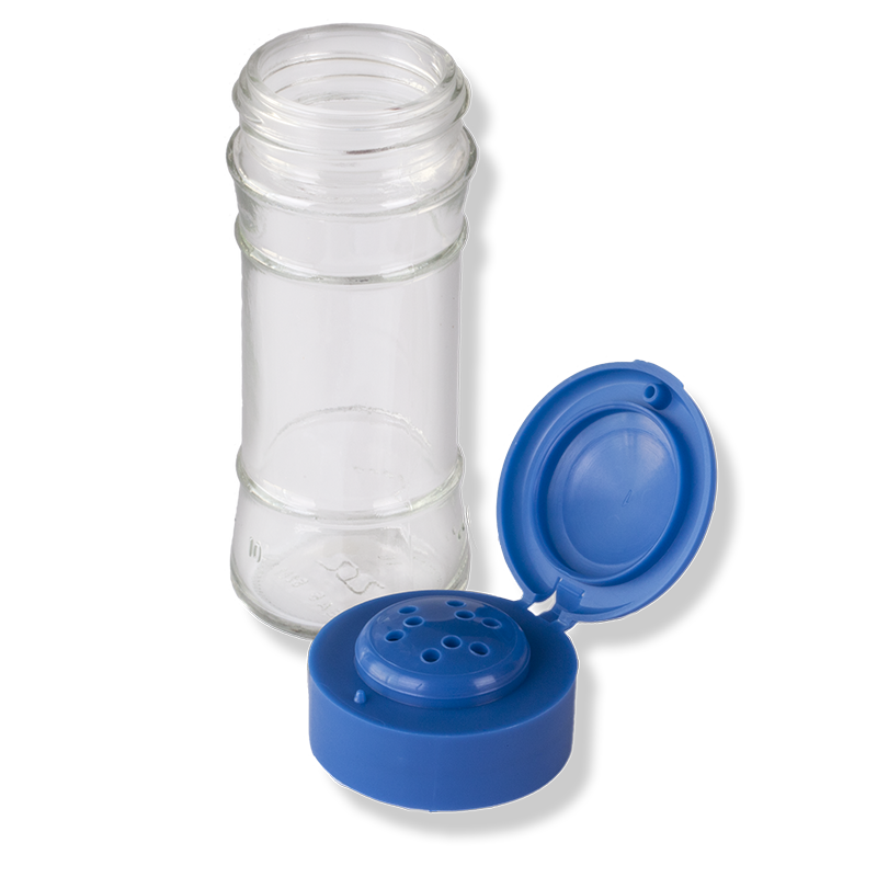 ANFRA All-porpouse 9 Holes Flip Top Blue Cap (PJ) - Anfra Packaging