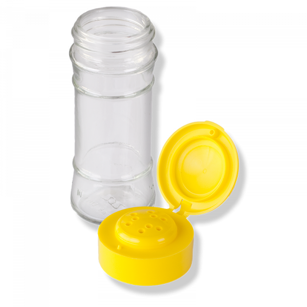 ANFRA All-porpouse 9 Holes Flip Top Yellow Cap - Anfra Packaging