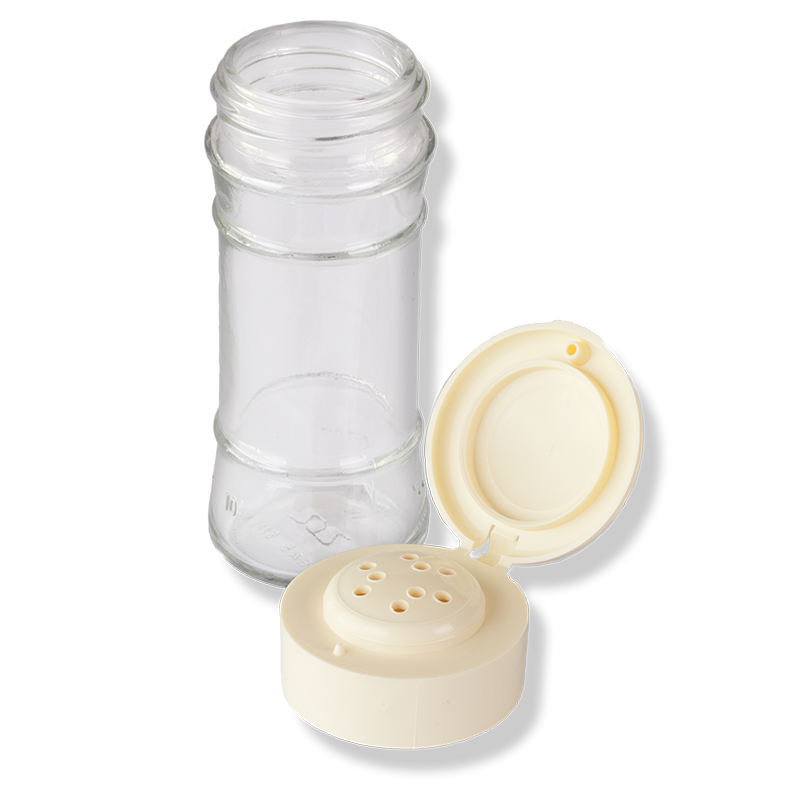 ANFRA All-porpouse 9 Holes Flip Top Ivory Cap - Anfra Packaging