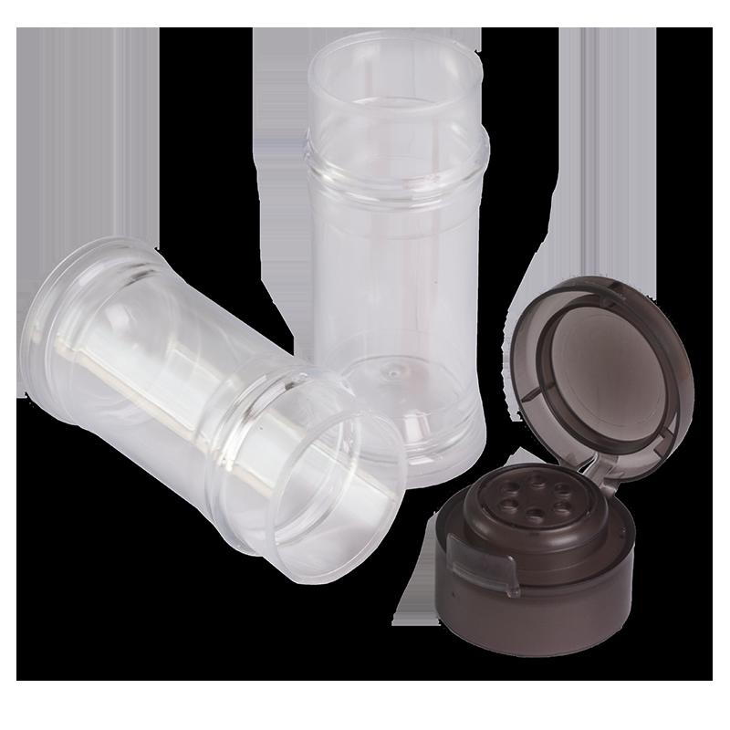 Tapa TR-40 NM Negra Transparente - Anfra Packaging