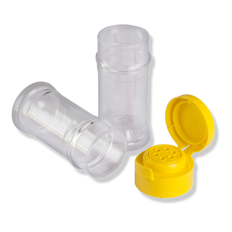TR-N Pressure Jar + TR-40 Yellow Flip Top Cap - Anfra Packaging