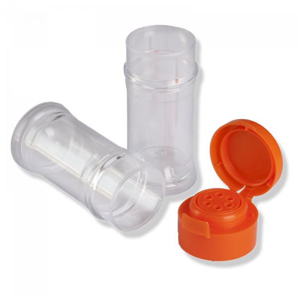 Flacon TR-N,Couvercle TR-40 Orange avec Joint - Anfra Packaging