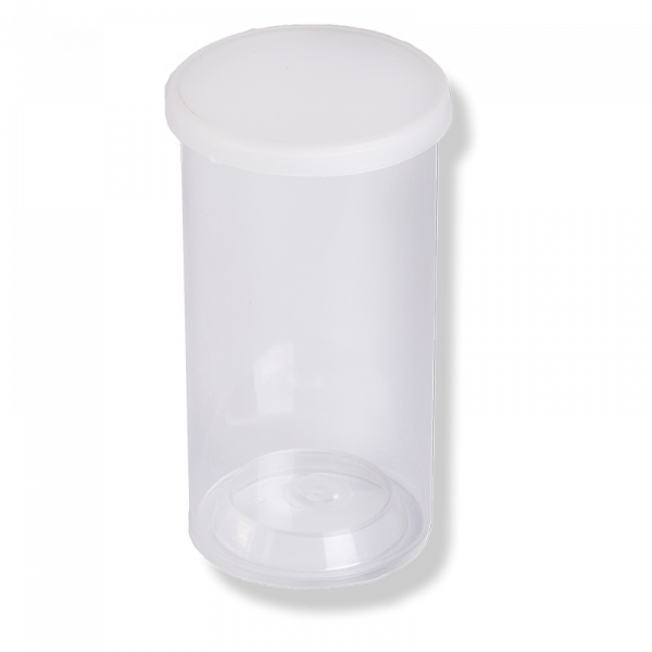 72X37 Tube +IASA-4 Translucent Lid - Anfra Packaging