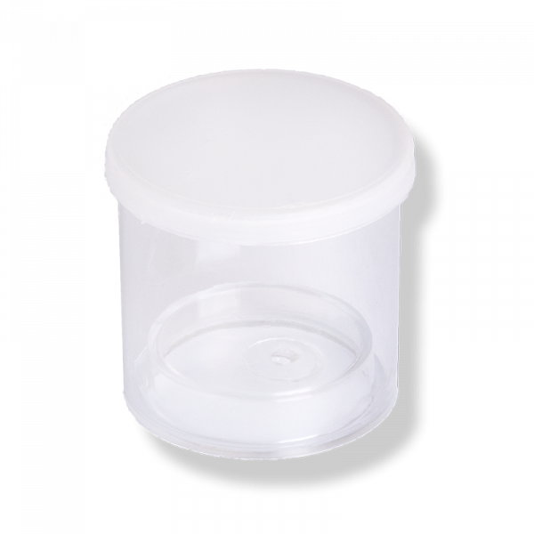 S-2 Tube, ø37 MM Translucent Lid - Anfra Packaging