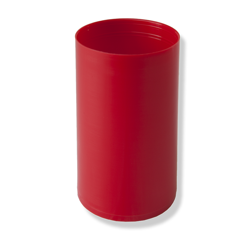 Bote Ø53x90mm Rojo - Anfra Packaging