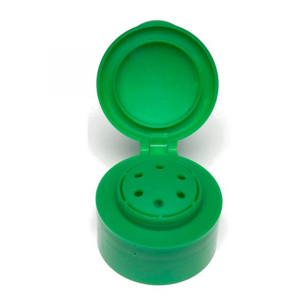 TB37 Green Flip Top Cap - Anfra Packaging