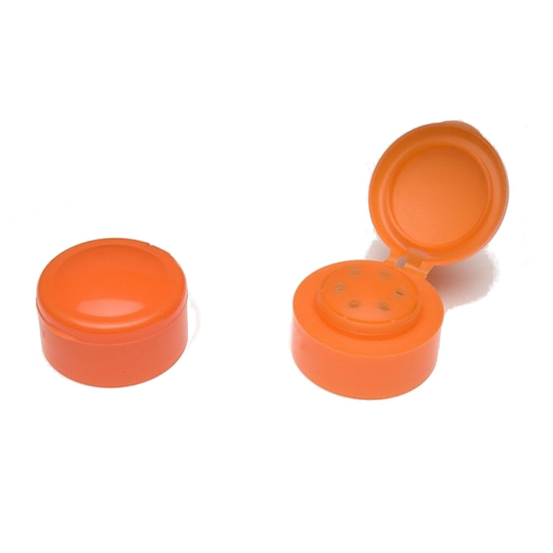 TB37 Orange Flip Top Cap - Anfra Packaging