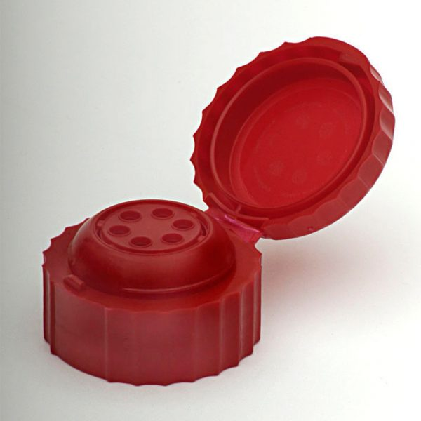 Red Flip Top Cap For Glass Jarr # - Anfra Packaging