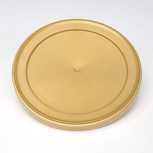 130mm Golden Plastic Overcap - Anfra Packaging